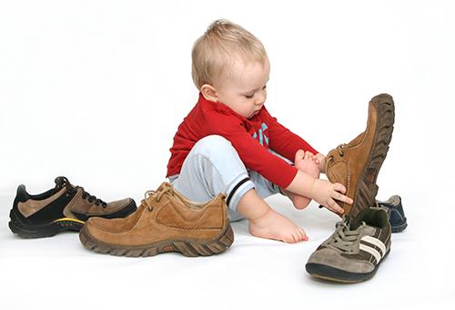 Как выбрать ребенку обувь?