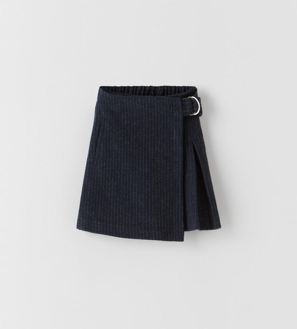 Купити Спідниця - Бермуди Zara: Морський синій - фото 1