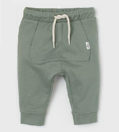 Купити Джоггерси трикотажні H&M Khaki green - фото 1