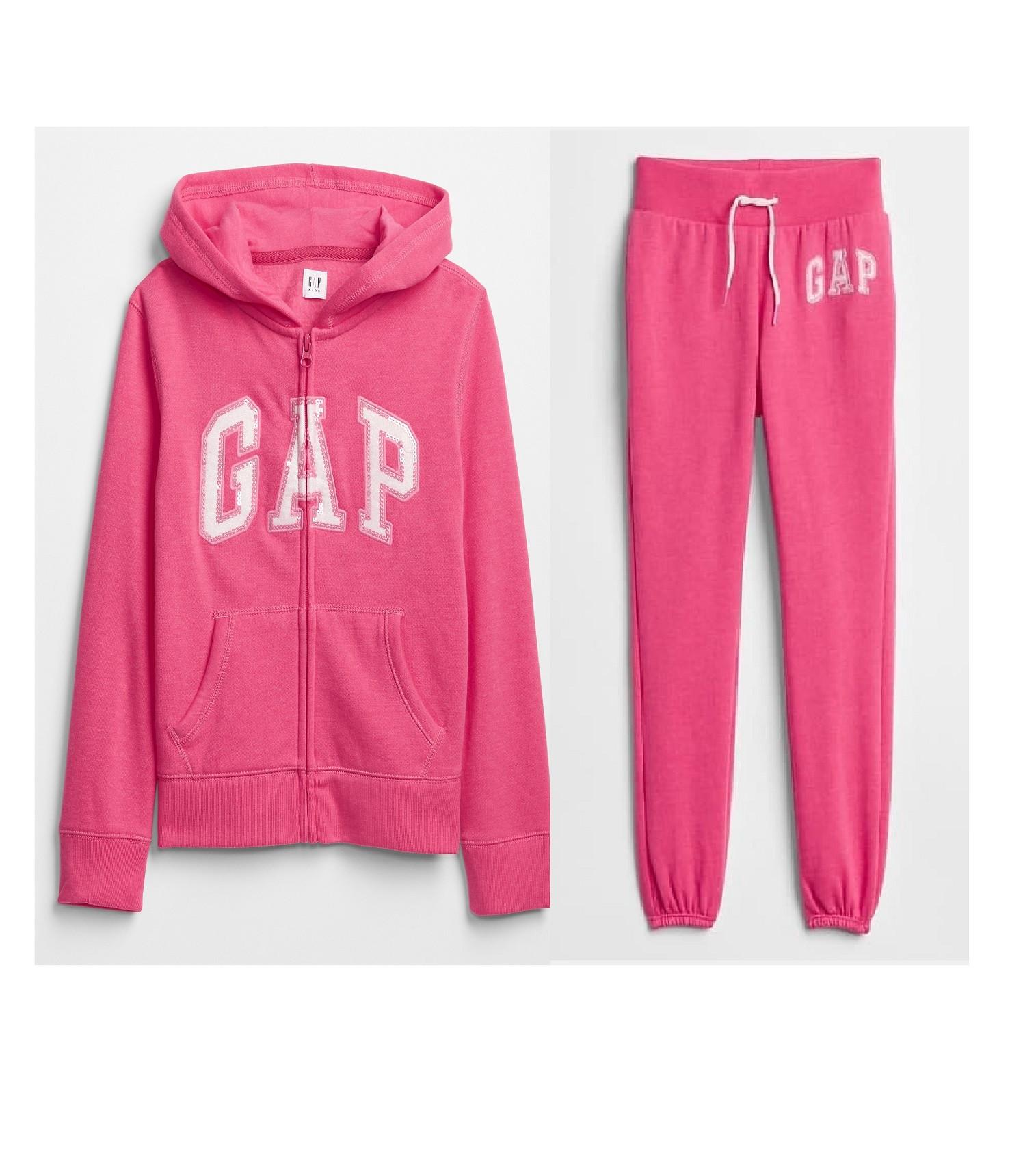Купити Костюм на флісі Gap Logo: pink jubilee - фото 1