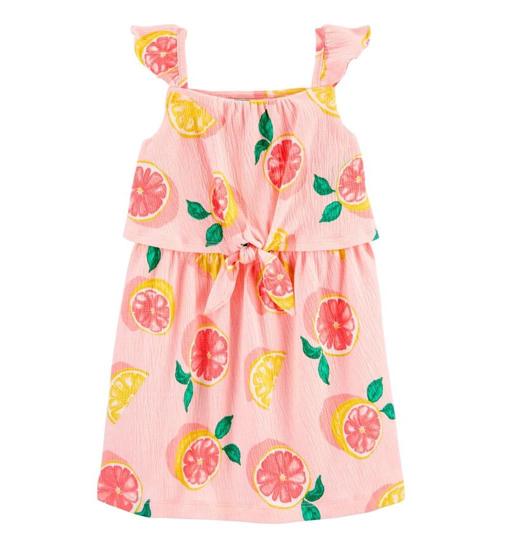 Купити Сарафан Carters Grapefruit Crinkle Pink - фото 1