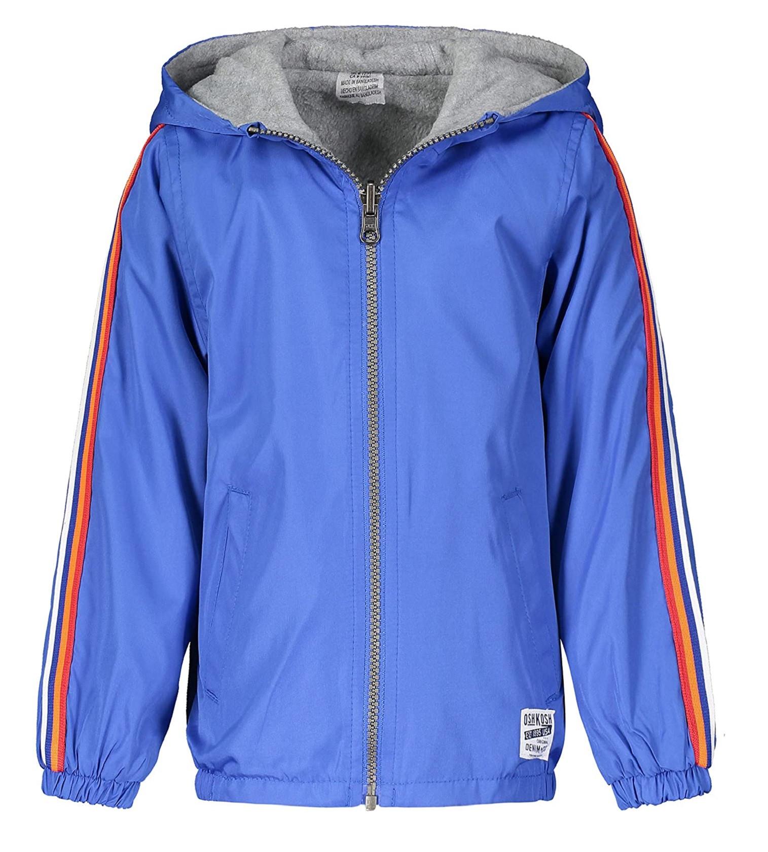 Купити Куртка Двостороння на флісі OshKosh Blue/Heather Grey - фото 1