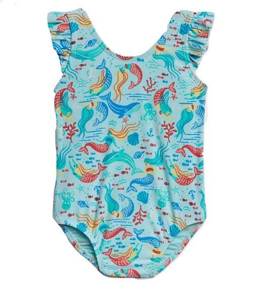 Купити Купальник Gap Mermaid Blue Tint - фото 1