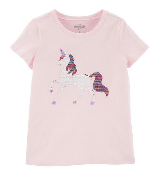 Купити Футболка OshKosh Unicorn Flip: Pink/Multi - фото 1