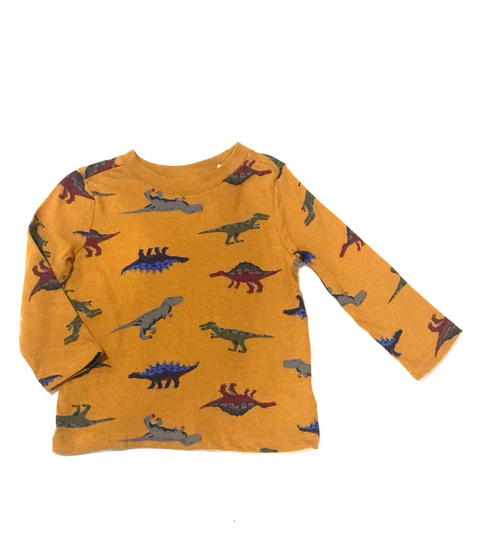 Купити Реглан Old Navy гірчичний, принт динозаври - фото 1