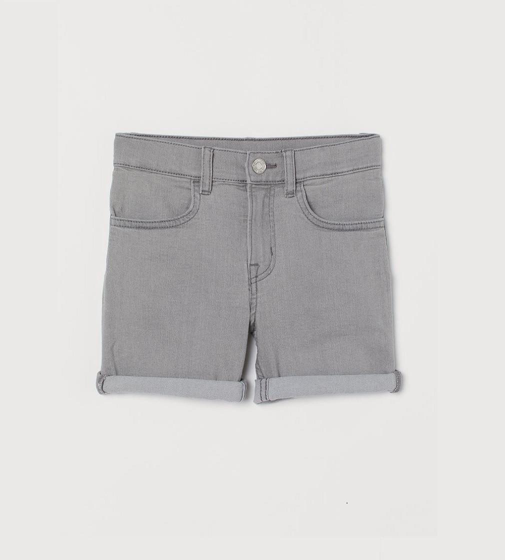 Купити Джинсові шорти H&M Slim Fit Grey - фото 1