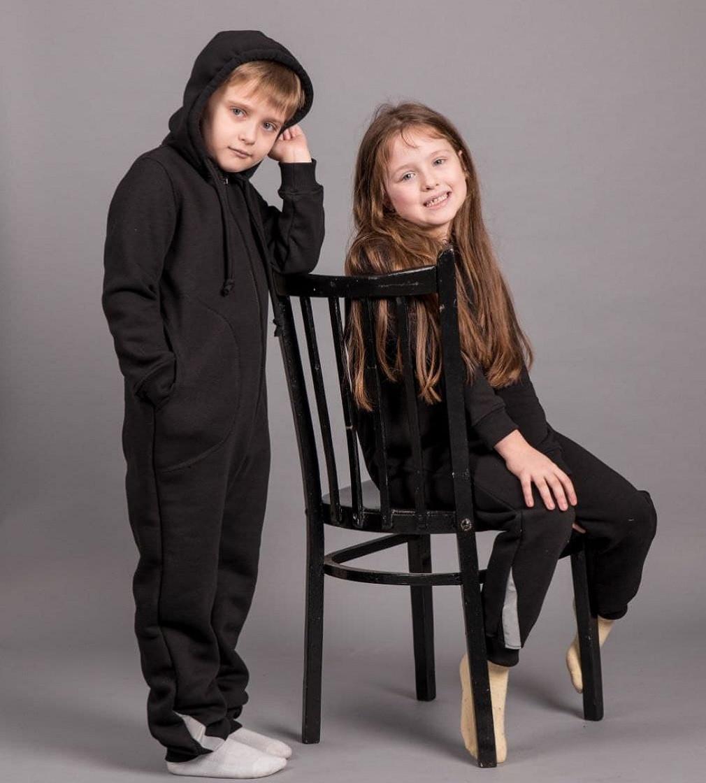 Купити Комбінезон на флісі Vera Gross (110-134 Черний) - фото 1