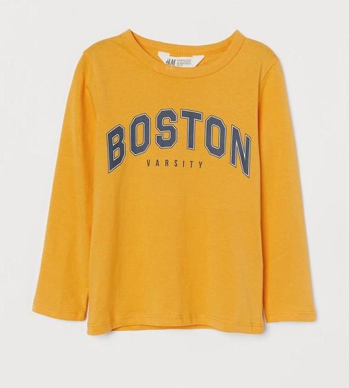 Купити Реглан H&M Жовтий / Boston - фото 1