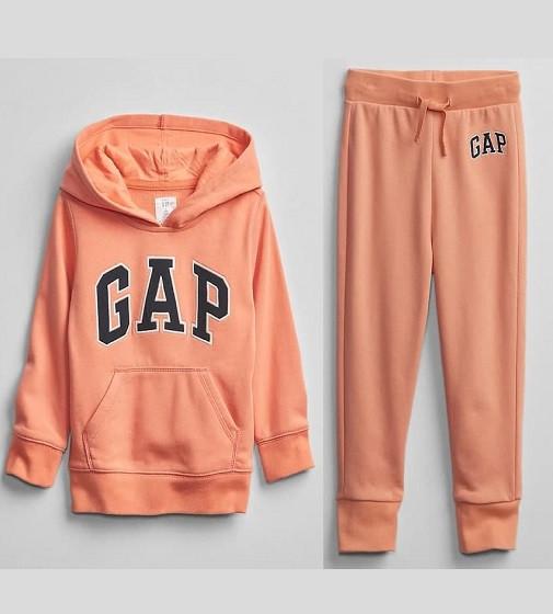 Купити Костюм на махрі Gap Logo: orange rock - фото 1