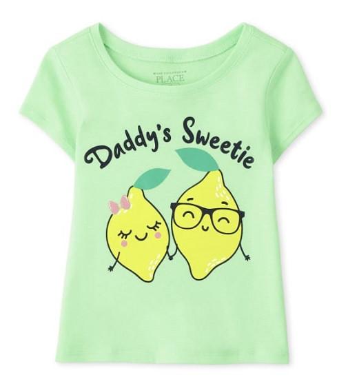 Купити Футболка Childrensplace Daddys Sweetie - фото 1