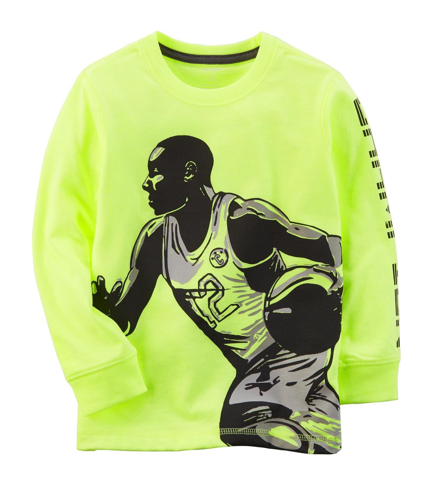 Купити Реглан Carters Neon Basketball - фото 1