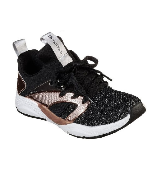 Купити Кросівки Skechers Shine Status (Black/Rose Gold) - фото 1