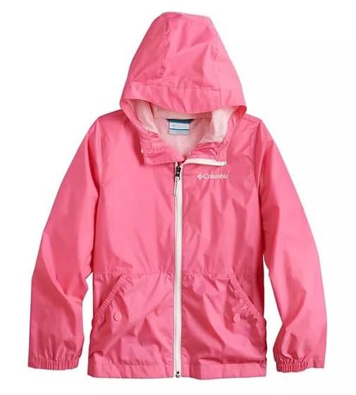 Купити Вітрівка Columbia Lightweight Solid Rain Pink - фото 1