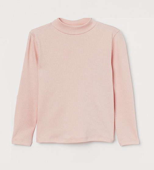 Купити Гольфик рубчик H&M Light pink - фото 1