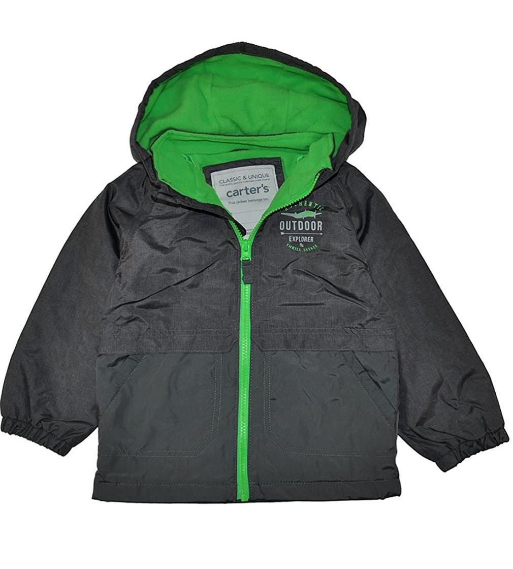 Купити Куртка на флісі Carters Gray / Green - фото 1