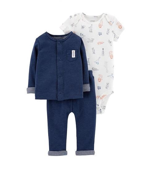 Купити Набір 3-Piece Little Cardigan Set Carters (126h472) - фото 1