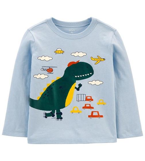 Купити Реглан Carters Dinosaur Jersey: Blue - фото 1