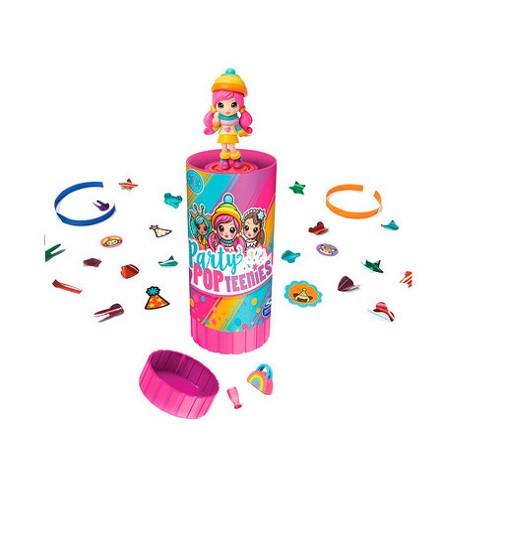 Купити Ігровий набір Party Popteenies хлопавка-сюрприз SM46800 - фото 1
