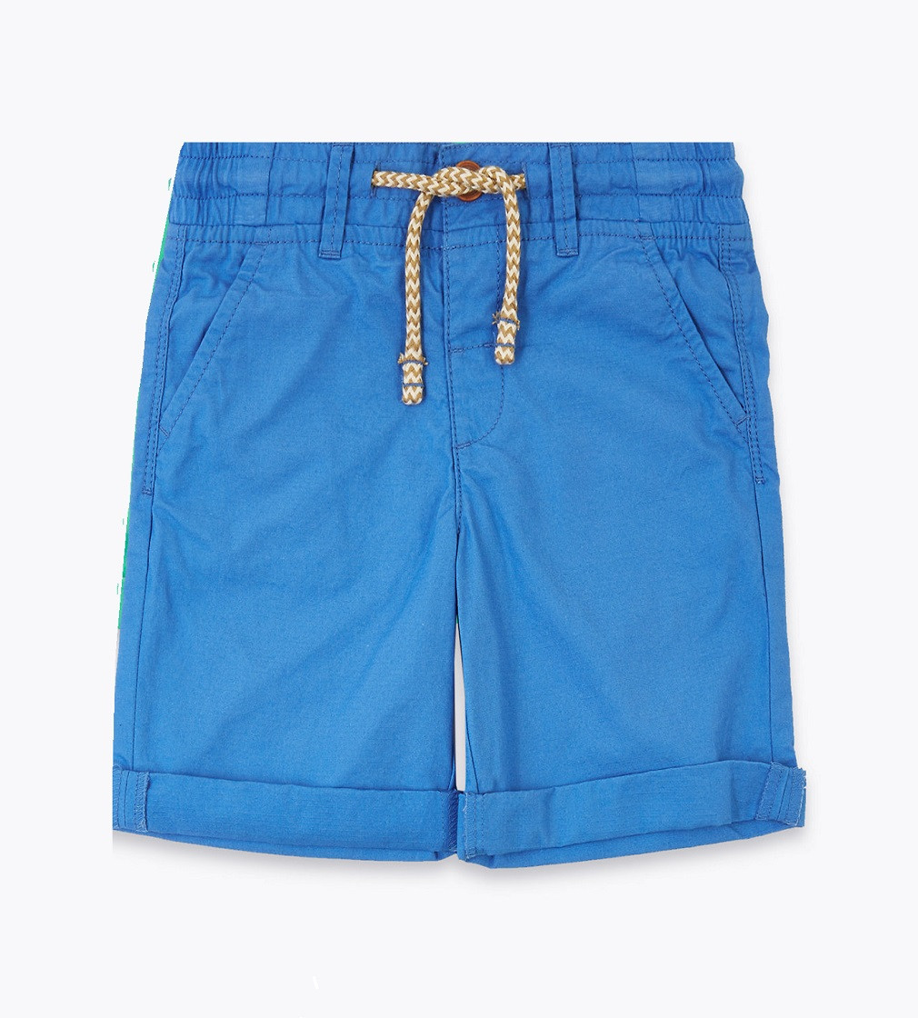 Купити Бавовняні шорти M&S BLUE - фото 1