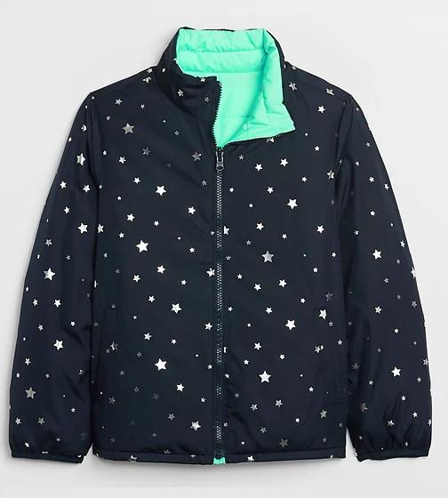 Купити Двостороння куртка GAP 592975 в зірки - фото 1