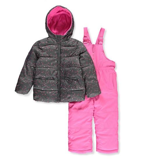 Купити Зимовий комплект Pink Platinum Baby Girls 'Insulated Two-Piece Snowsuit (pp838916-nvy) - фото 1