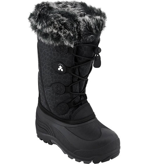 Купити Чоботи KAMIK KIDS SNOWGYPSY (NK8192S BLK) - фото 1