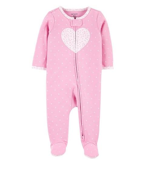 Купити Сліп Heart 2-Way Zip Sleep & Play Carters (1k094110) - фото 1