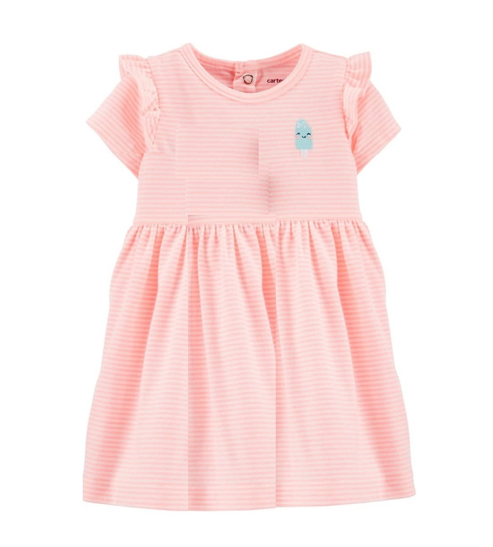 Купити Сукня з трусиками Carters Neon Orange - фото 1