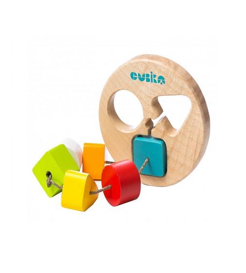 Купити Дерев'яна іграшка Cubika Сортер круглий LT-1  14361 - фото 1