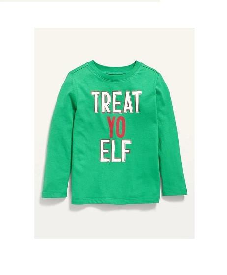 Купити Реглан Новорічний Treat Yo Elf - фото 1