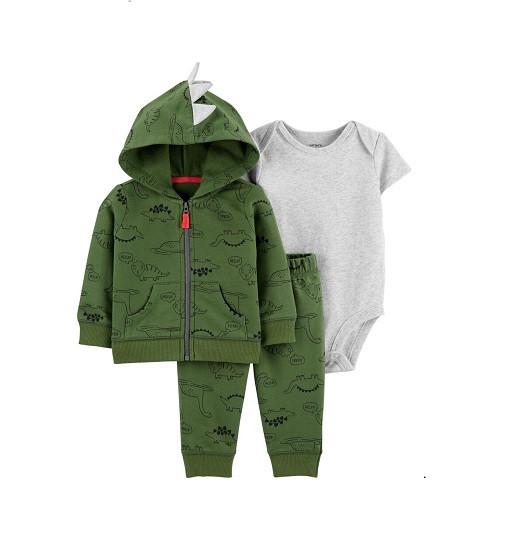 Купити Набір 3в1 Dinosaur Little Jacket Set Carters 1h291710 - фото 1