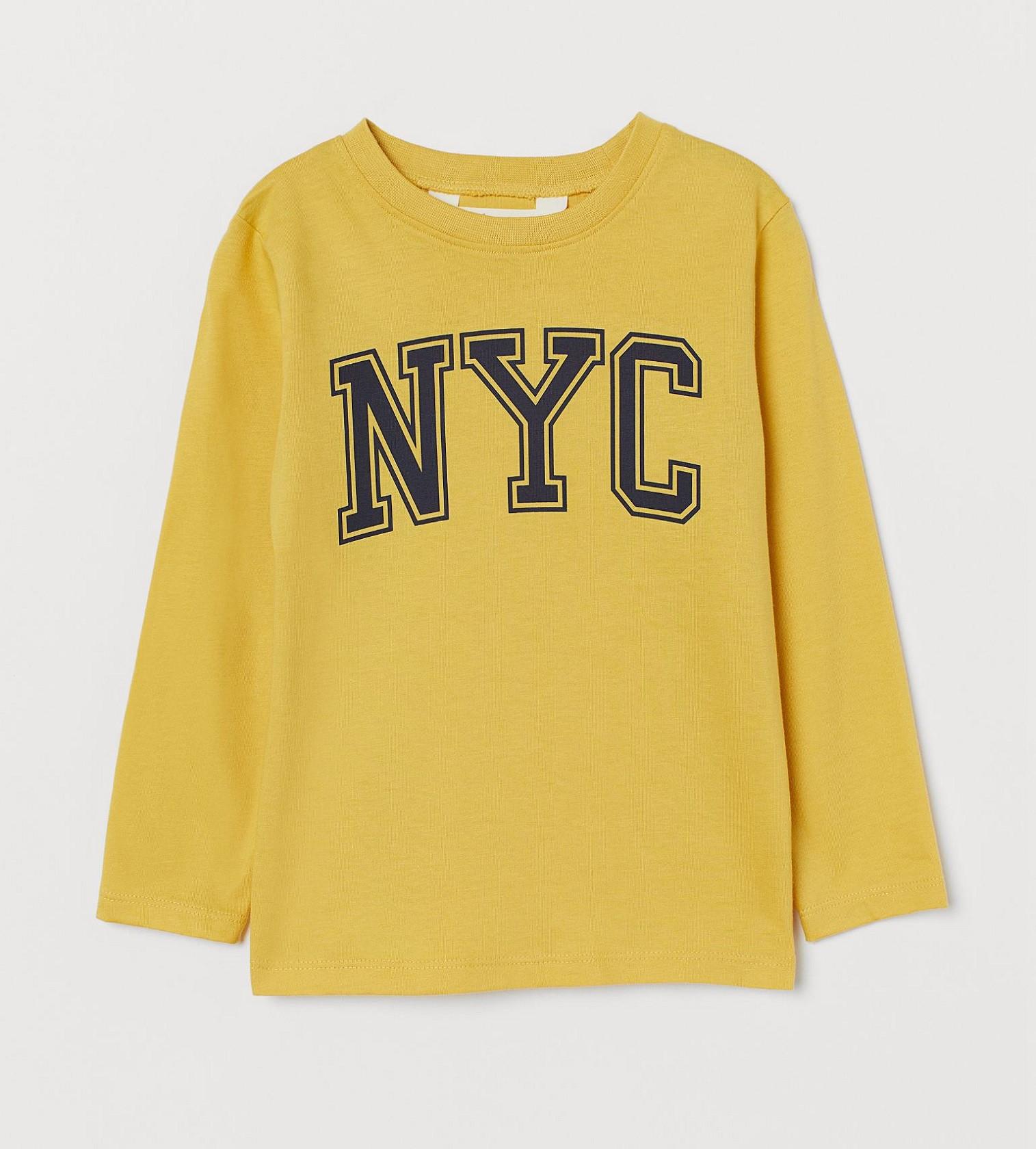 Купити Реглан H&M Жовтий NYC - фото 1