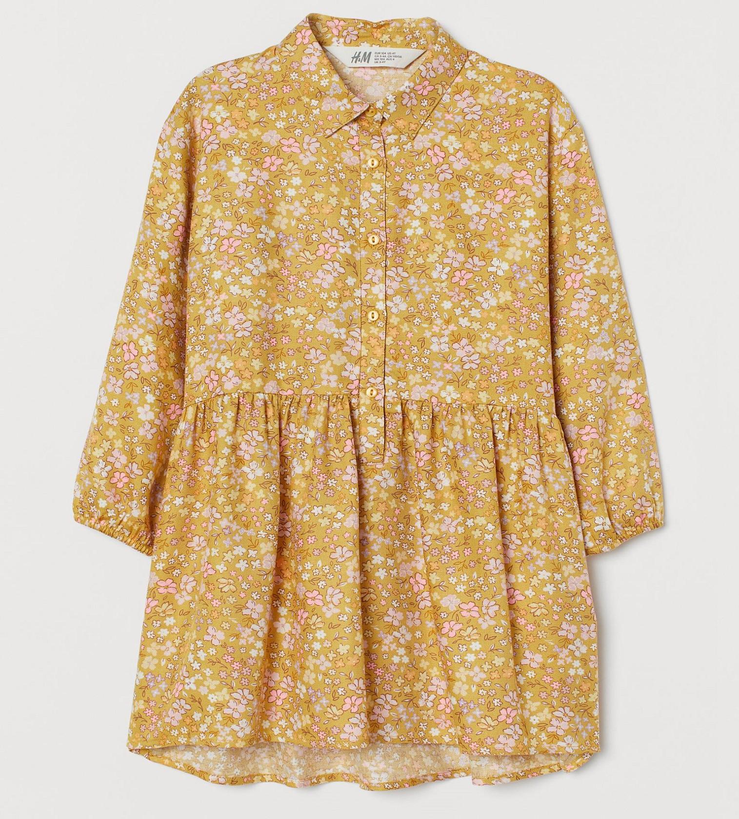 Купити Сукня H&M Жовтий / Квіти - фото 1