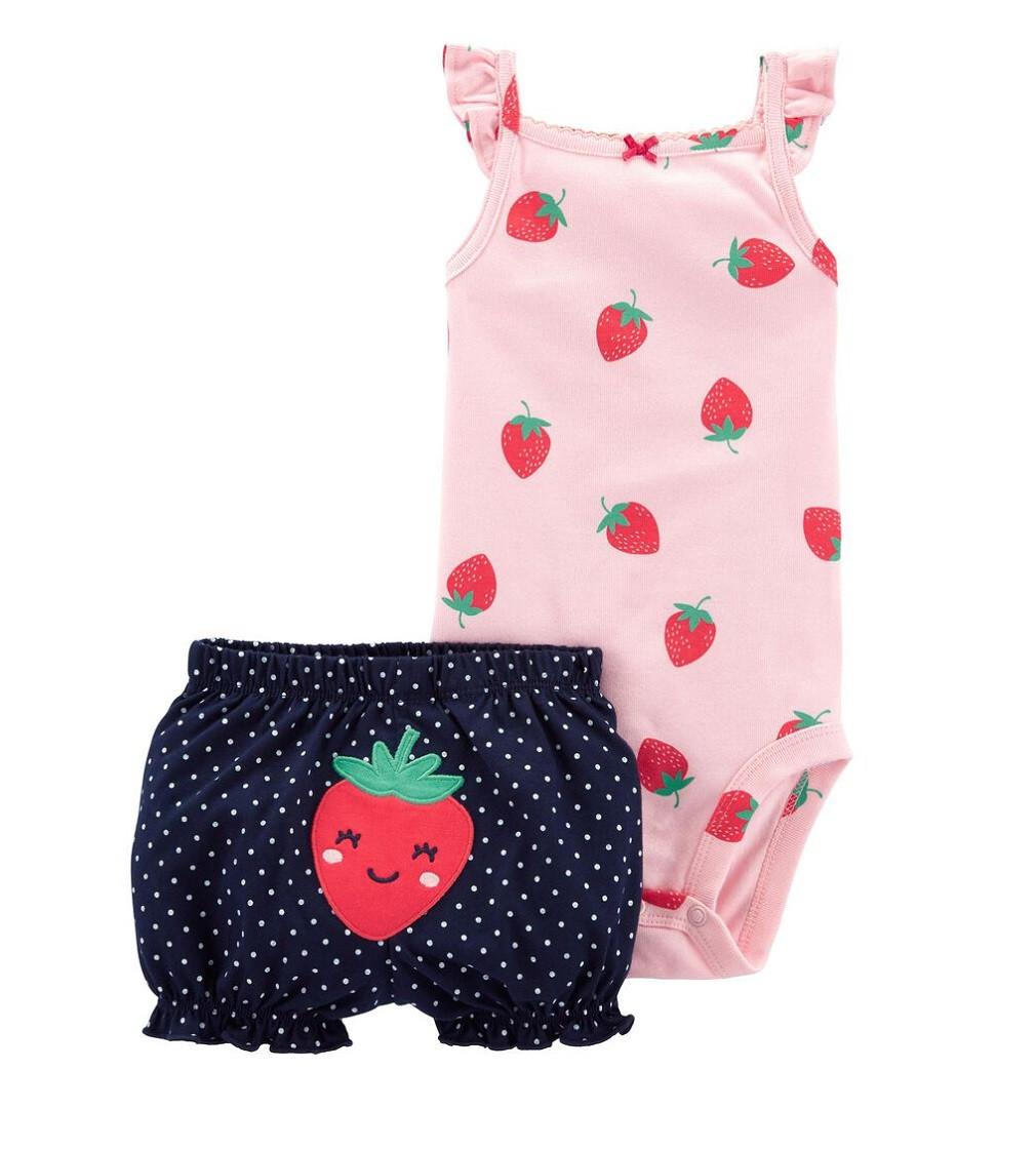 Купити Набір Carters Strawberry Pink / Navy - фото 1