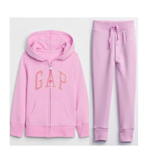 Купити Костюм на флісі Gap Logo: purple rose - фото 1