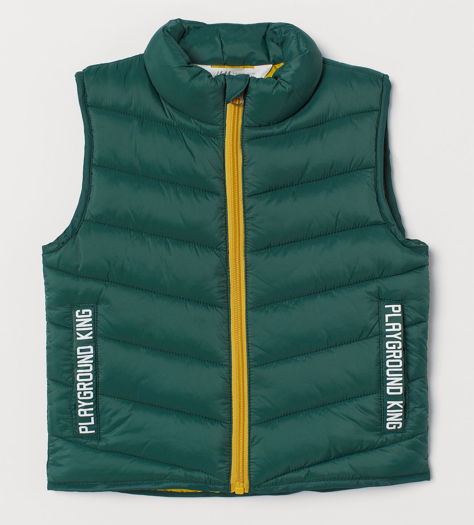 Купити Жилетка H&M Темно-зелена - фото 1