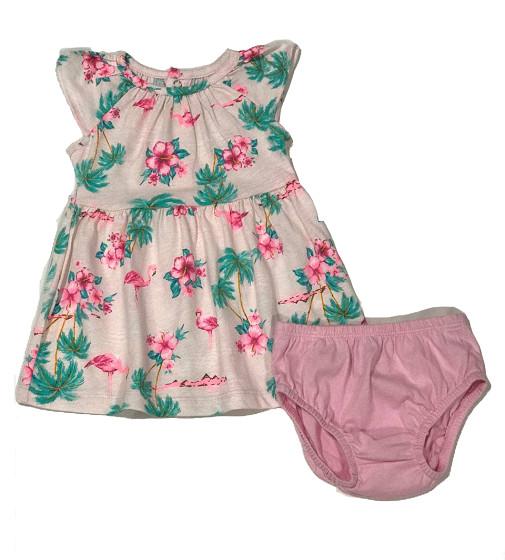 Купити Сукня з трусиками Carters Фламінго - фото 1
