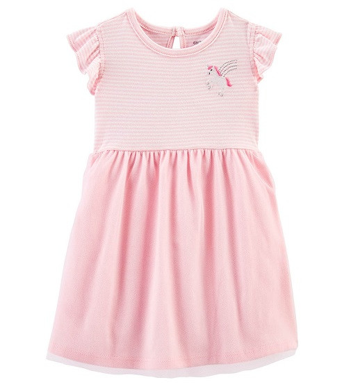 Купити Сукня з трусиками Carters Unicorn Ballerina: Pink - фото 1