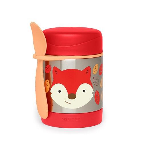 Купити Дитячий термос гуртка для їжі Лисичка Skip Hop (252392) - фото 1
