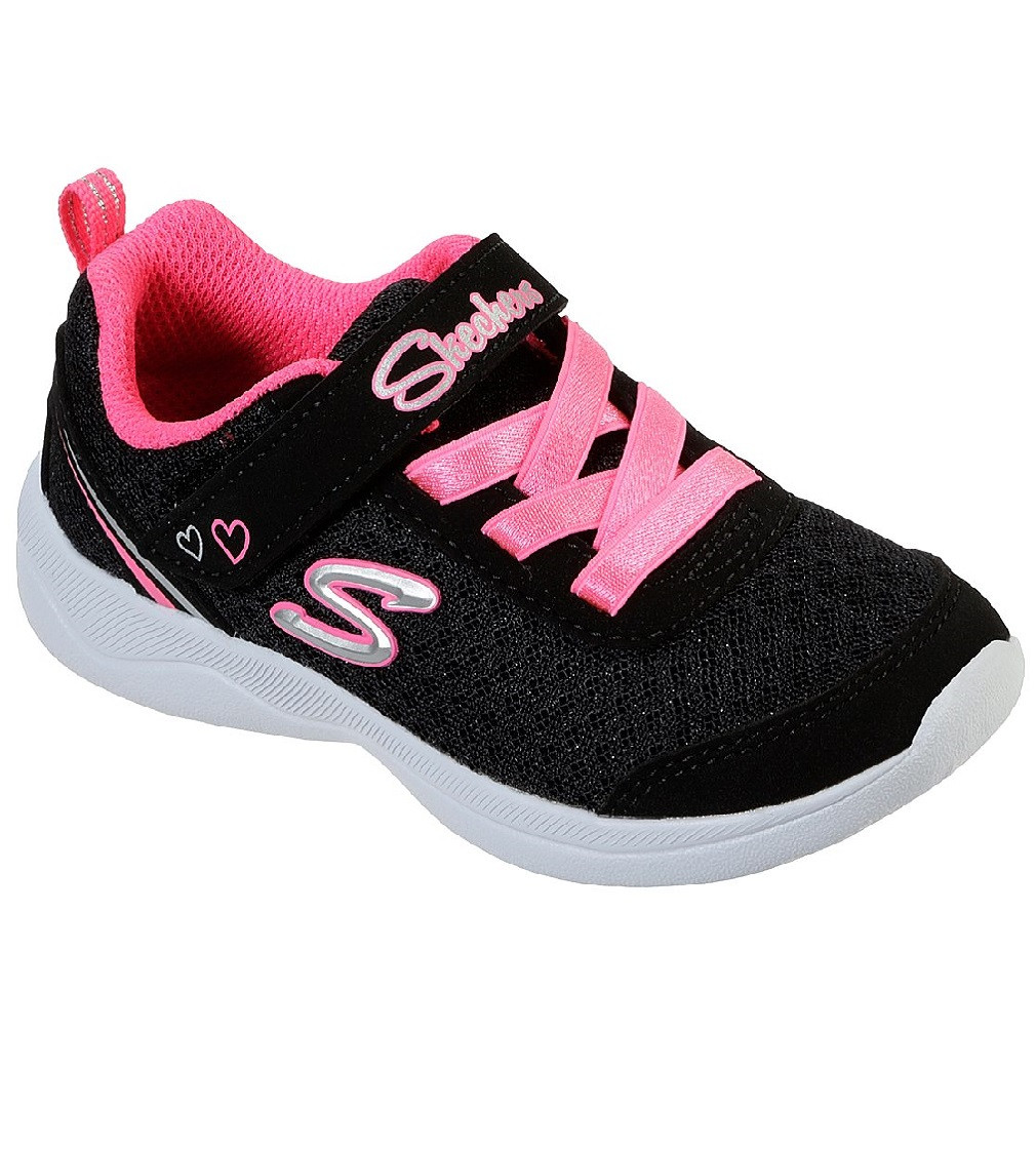 Купити Кросівки Skechers SKECH-STEPZ 2.0 - SPARKLE TRAINER BLACK/HOT PINK - фото 1