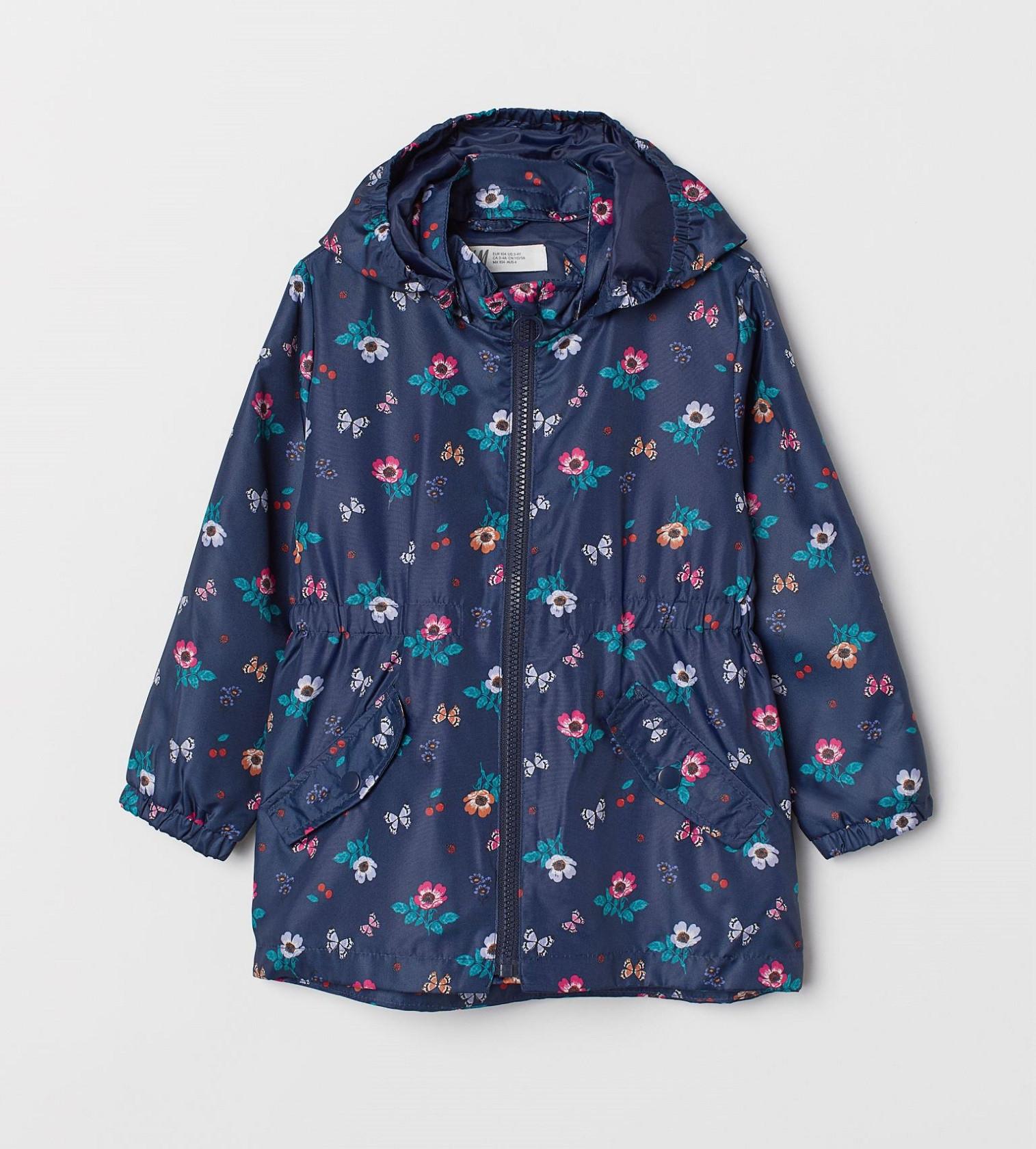 Купити Вітрівка H&M Темно-синій / Малюнок - фото 1