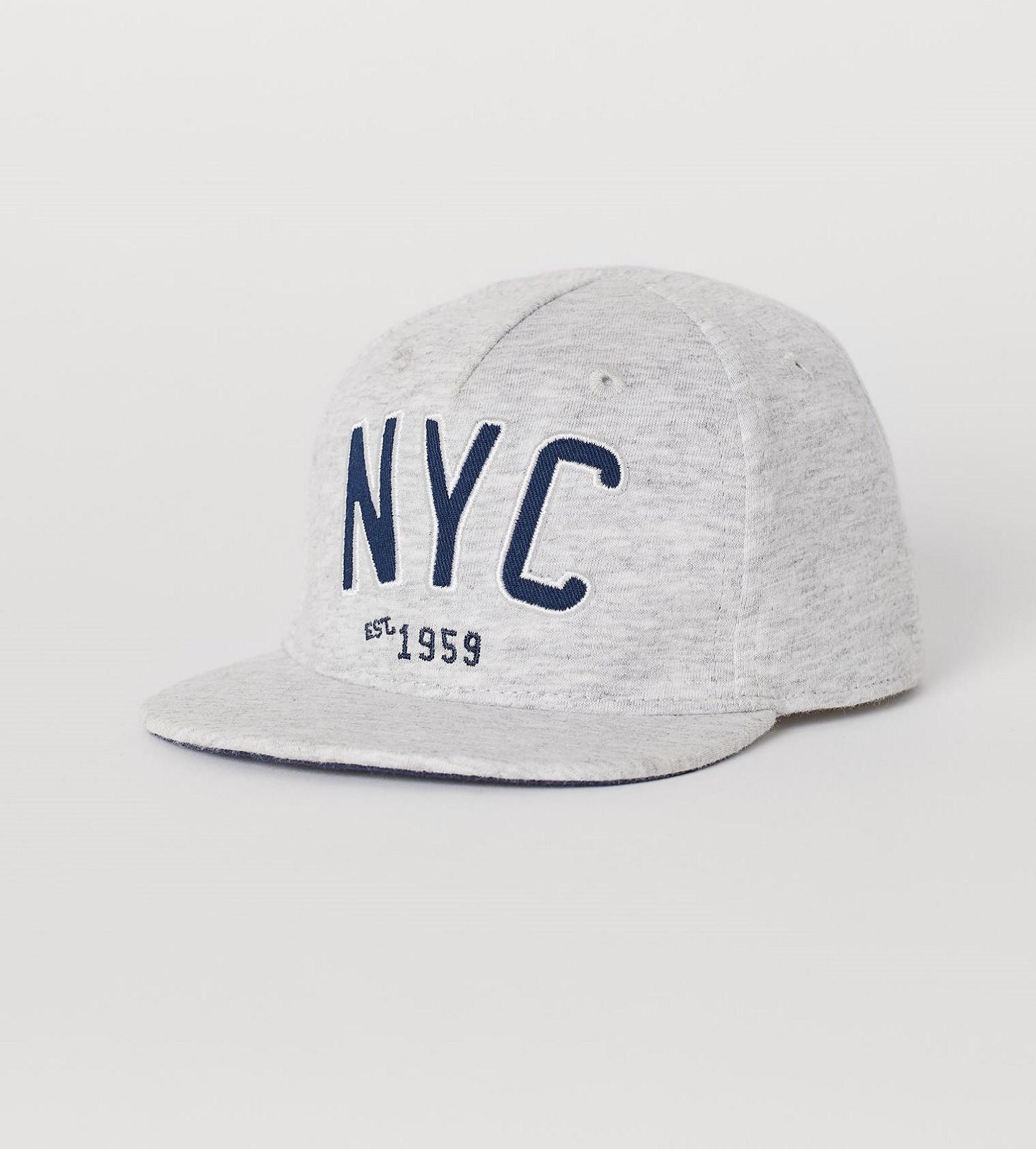 Купити Кепка H&M Gray melange/NYC - фото 1