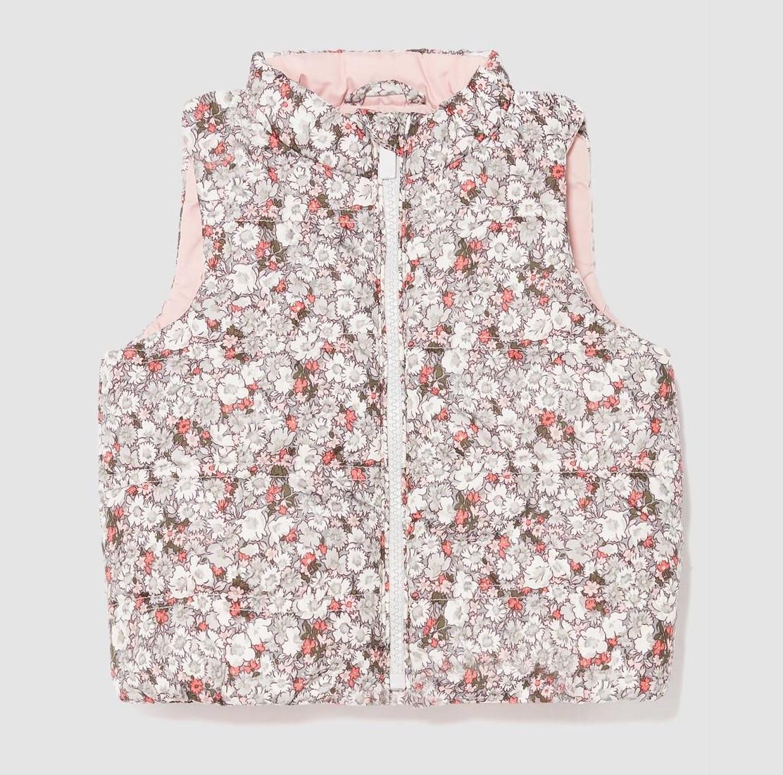 Купити Жилетка Gap Puffer Vest Floral Print - фото 1