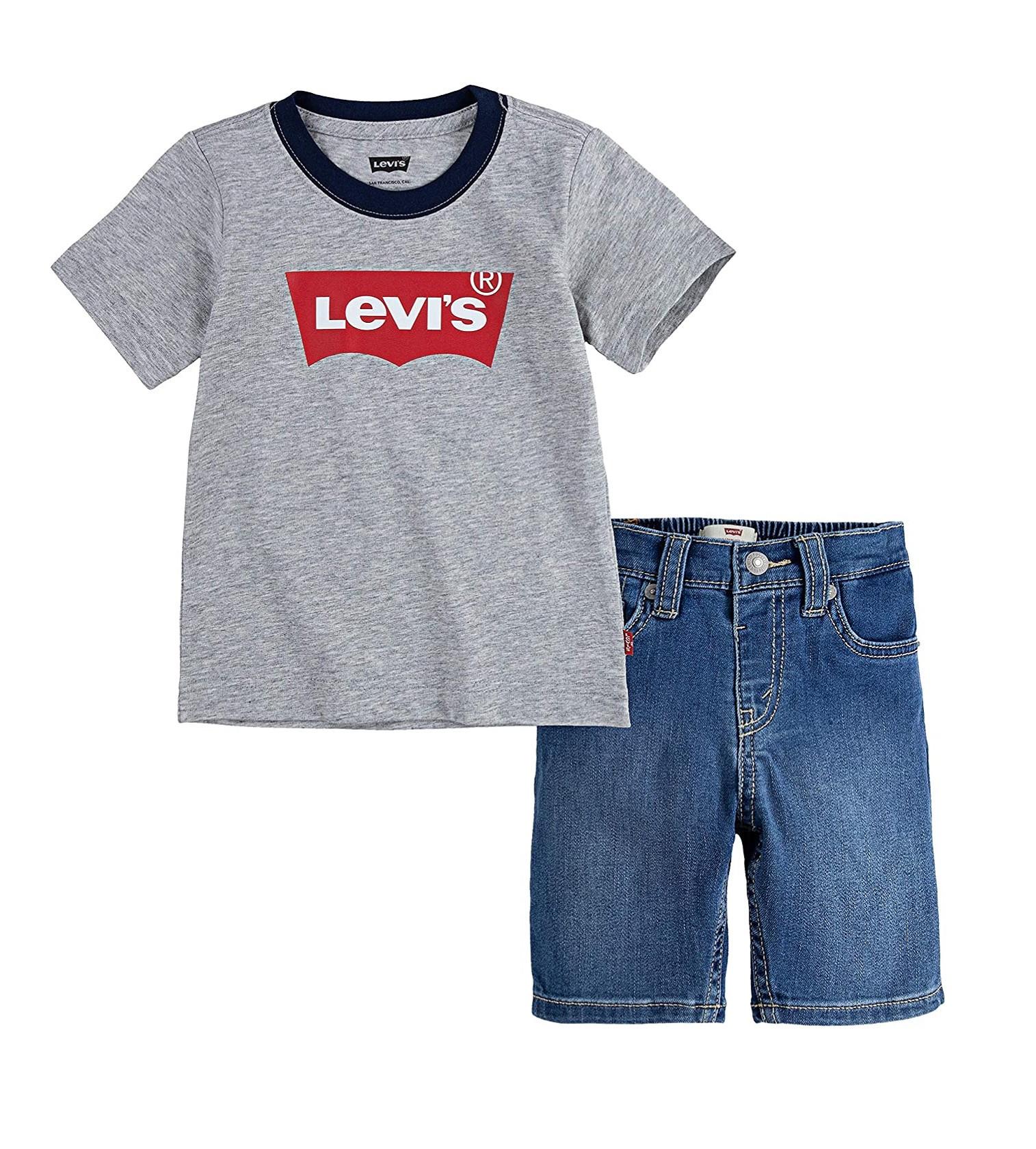 Купити Набір Levi's GREY HEATHER - фото 1