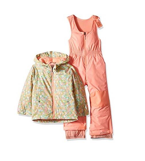 Купити Комплект Kids Frosty Slope Set Columbia: Tiki Pink Floral Print - фото 1