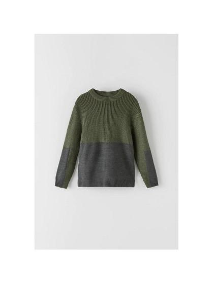 Купити Светр Zara Синьо зелений - фото 1