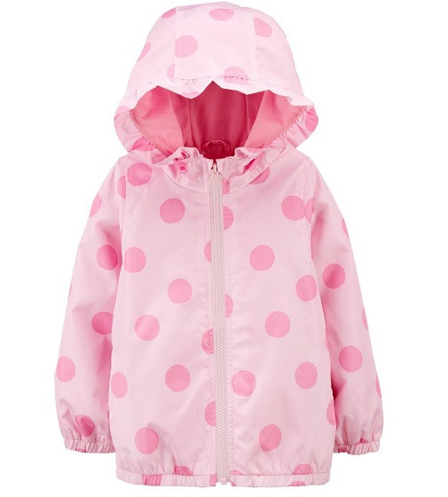 Купити Вітрівка Carters Polka Dot Pink - фото 1