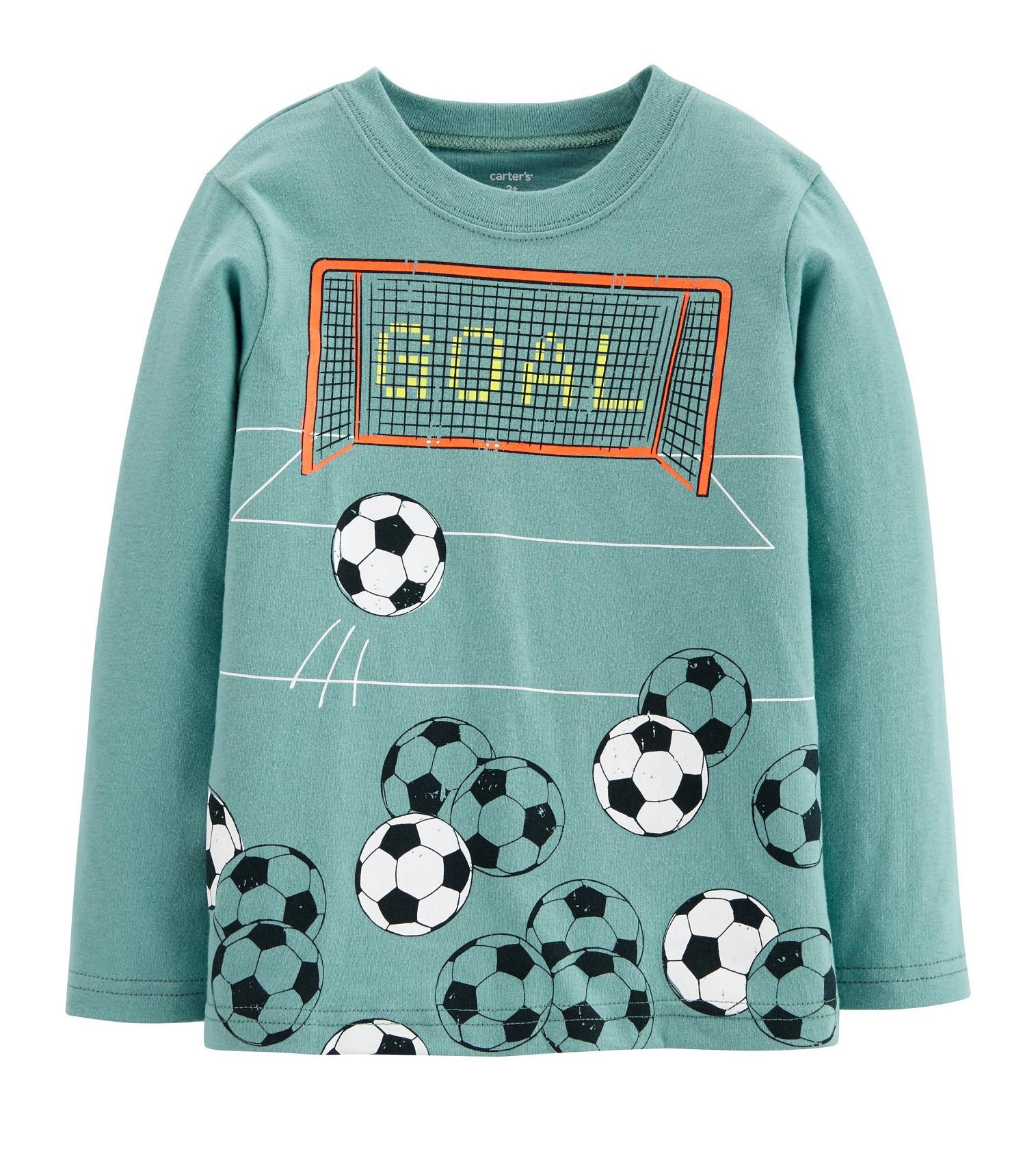 Купити Реглан Carters Soccer Teal - фото 1