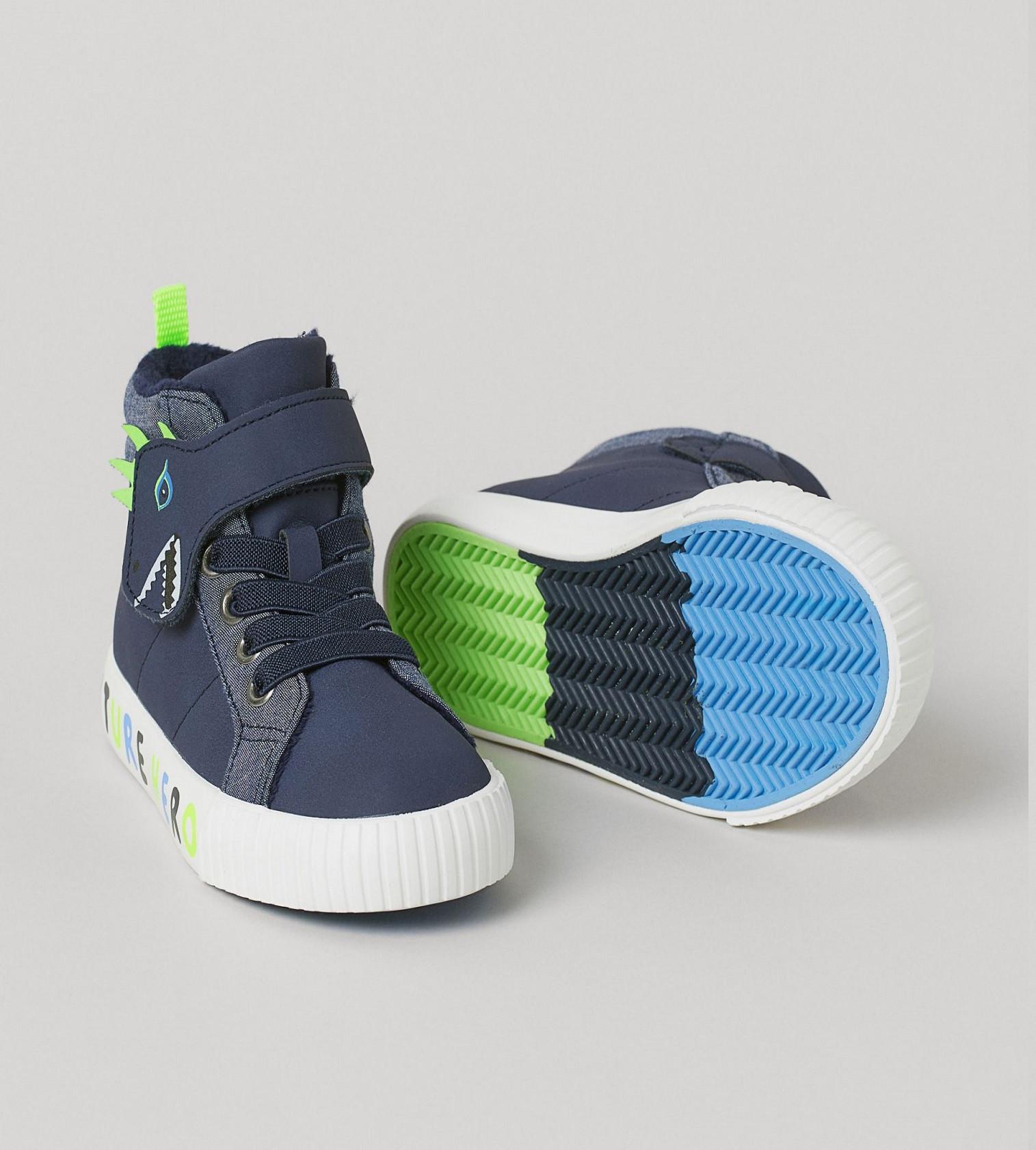 Купити Хайтопи кеди H&M Blue/Future Hero - фото 1