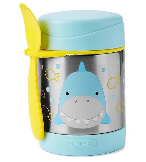 Купити Дитячий термос гуртка для їжі Акула Skip Hop (032020) - фото 1